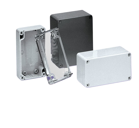 PNR Series - Polycarbonate Enclosures with Recessed Opaque Cover image