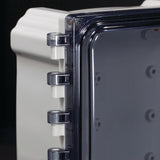 Heartland Series - Polycarbonate Enclosures with Non-Metallic Hinge and Non-Metallic Latches - Includes Non-Metallic Latches and Padlock Provision