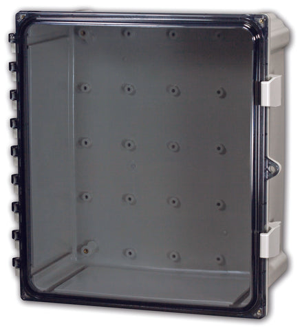 Heartland Series - Polycarbonate Enclosures with Non-Metallic Hinge and Non-Metallic Latches - Includes Non-Metallic Latches and Padlock Provision image
