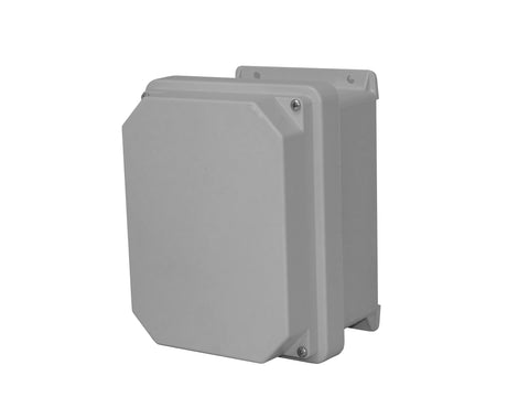 RVJ-W Series - Fiberglass Enclosures with Raised Screw Cover and Stainless Steel Cover Screws image