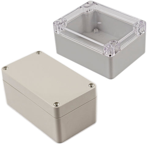 Hammond Water-Tight ABS & Polycarbonate Enclosures RZ Series  Opaque or Clear Lid, Smooth Surface image
