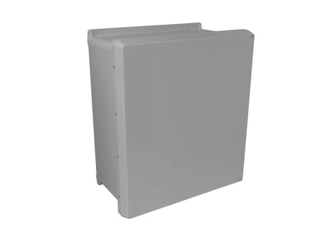 VJ-HWLL Series - Fiberglass Enclosures with Stainless Steel Continuous Hinge and Stainless Steel Latches image
