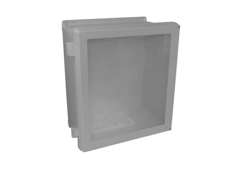 VJB-NHW Series - Fiberglass Enclosures with Bonded Window and Non-Metallic Hinges - Includes Stainless Steel Cover Screws image