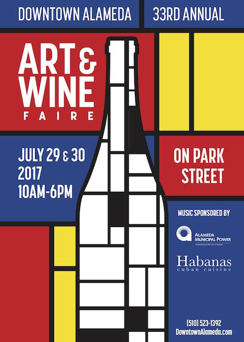 Meet us at Alameda's 33rd Annual Art & Wine Faire!