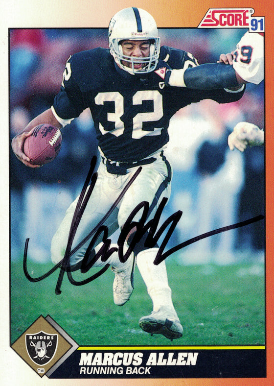 """Oakland Raiders"" - Marcus Allen Signed Trading Card (Unframed)"