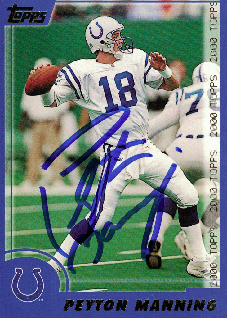 """Indianapolis Colts"" - Peyton Manning Signed Trading Card (Unframed)"