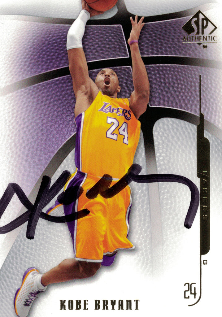 """Los Angeles Lakers"" - Kobe Bryant Signed Trading Card (Unframed)"