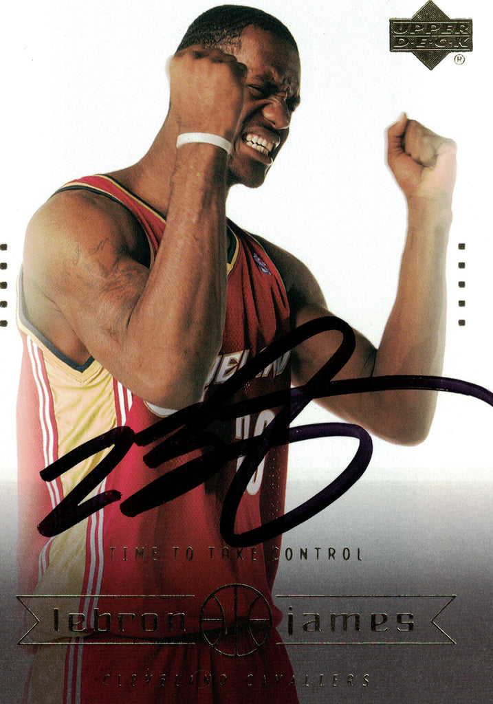 """Cleveland Cavaliers"" - LeBron James Signed Trading Card (Unframed)"