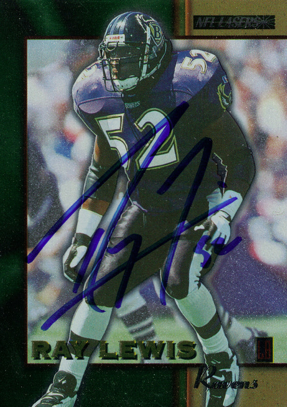 """Baltimore Ravens"" - Ray Lewis Signed Trading Card (Unframed)"