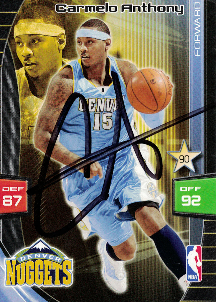 """Denver Nuggets"" - Carmelo Anthony Signed Trading Card (Unframed)"