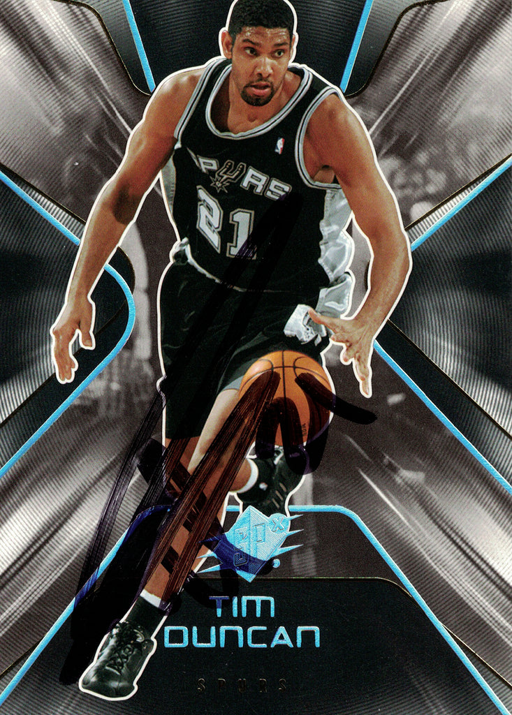 """San Antonio Spurs"" - Tim Duncan Signed Trading Card (Unframed)"