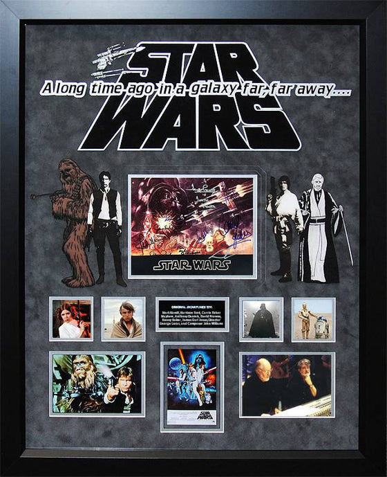 Star Wars – Cast Signed 1977 Movie Souvenir