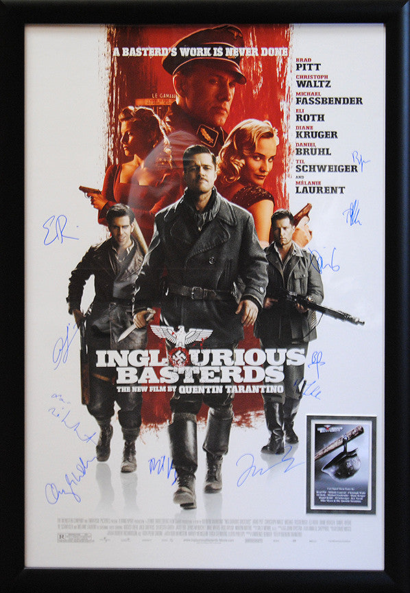 """Inglourious Basterds"" Signed Movie Poster"