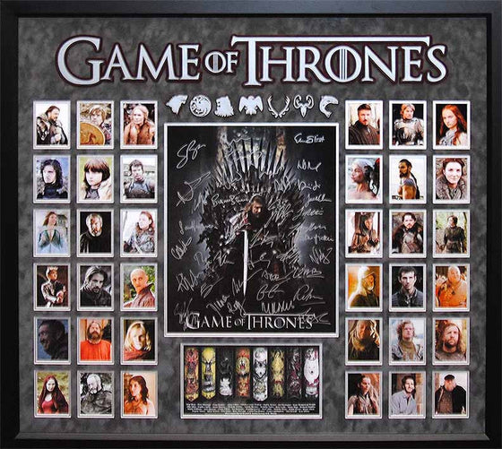 """Game of Thrones Collage"" Signed  16x20 collage"