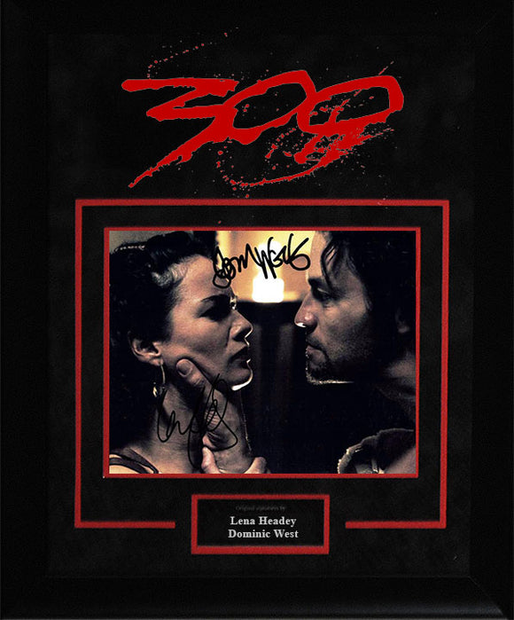 """300"" - Cast Signed 8x10 Photo"