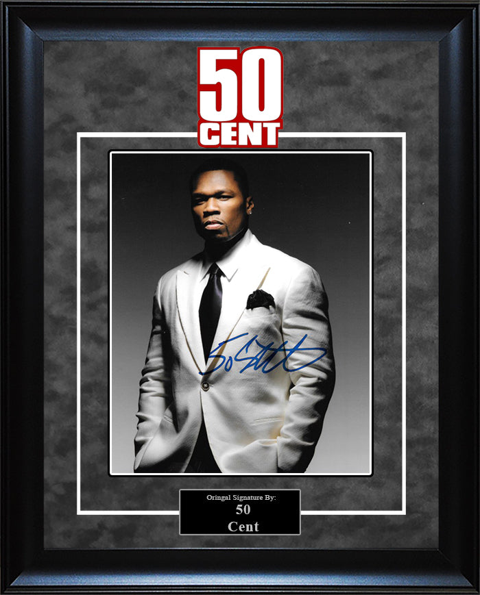 50 Cent - Signed 8x10 Photo