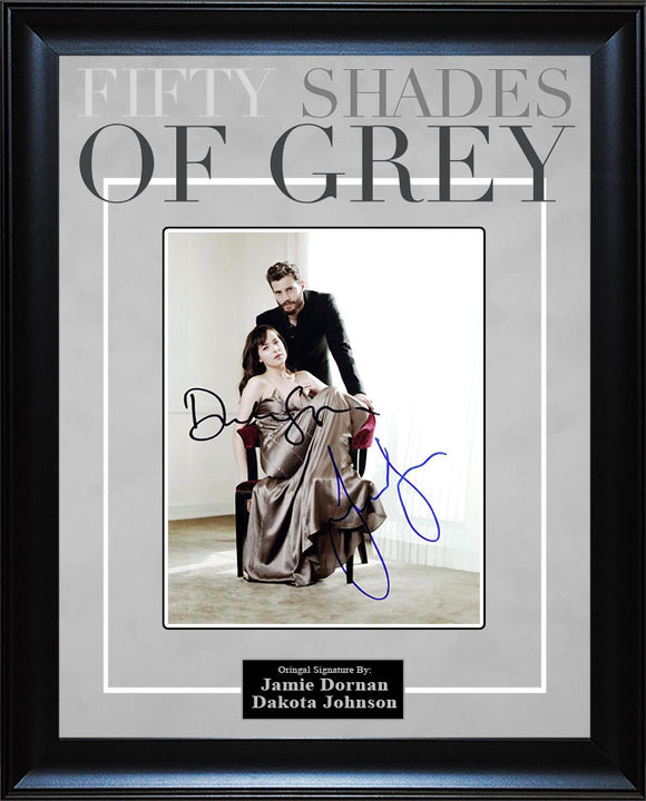 """50 Shades of Grey"" - Cast Signed 8x10 Photo"