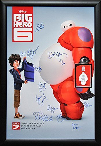 Big Hero 6 – Cast Signed Poster