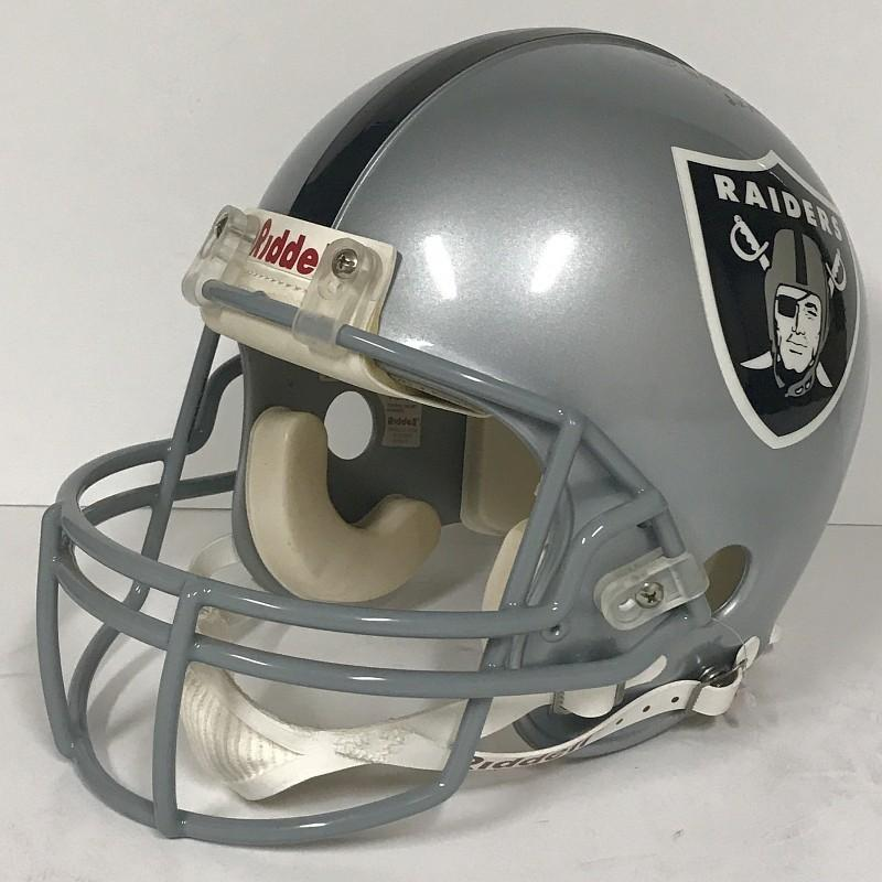 Oakland Raiders - Daryle Lamonica and Fred Biletnikoff Signed Official NFL Riddell Replica Helmet