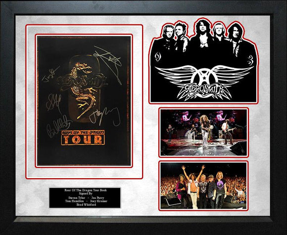 """Aerosmith"" Roar of the Dragon Tour Book"