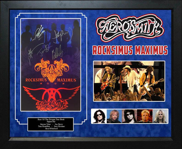 """Aerosmith"" Rocksimus Maximus Tour Book"