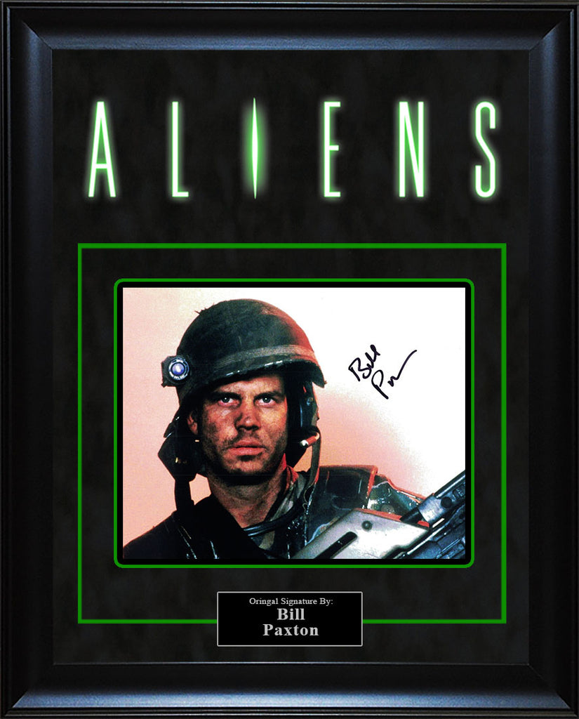 """Aliens"" - Bill Paxton Signed 8x10 Photo"