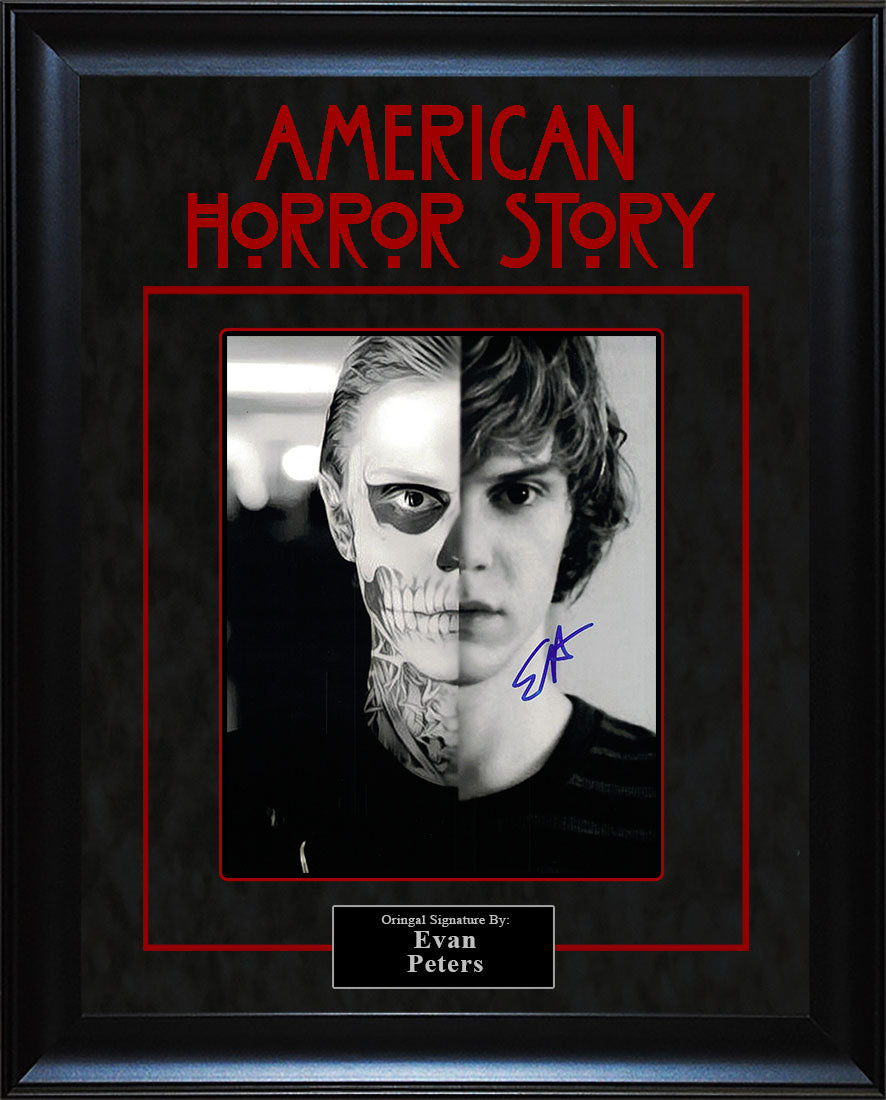 """American Horror Story"" - Evan Peters Signed 8x10 Photo"