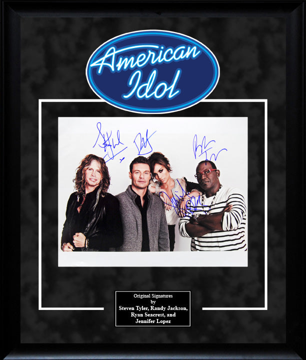 """American Idol"" - Cast Signed 8x10 Photo"