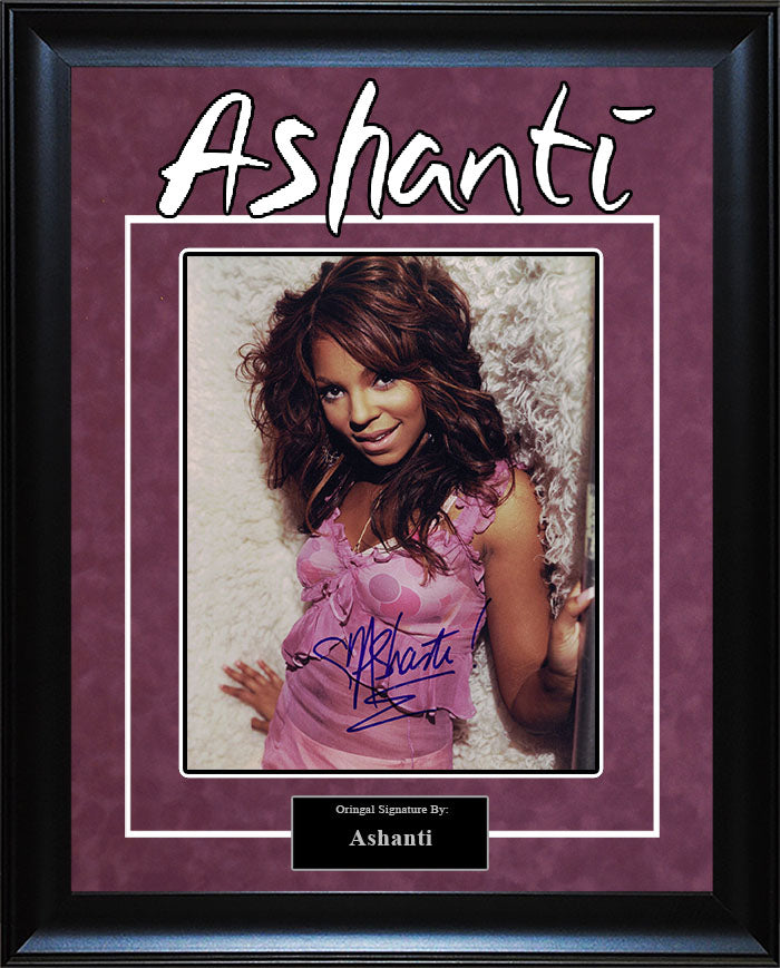 Ashanti - Signed 8x10 Photo