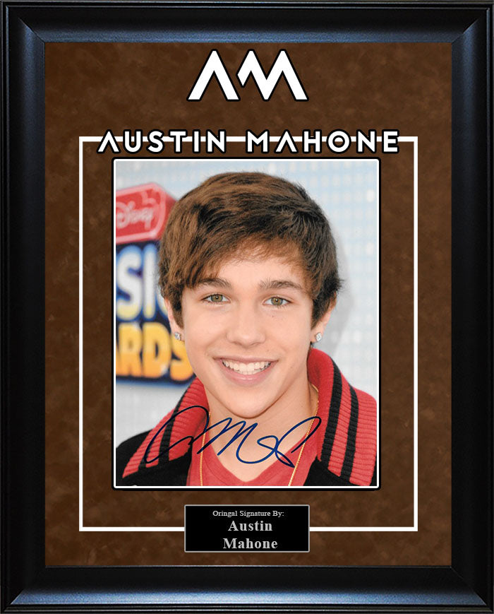 Austin Mahone - Signed 8x10 Photo