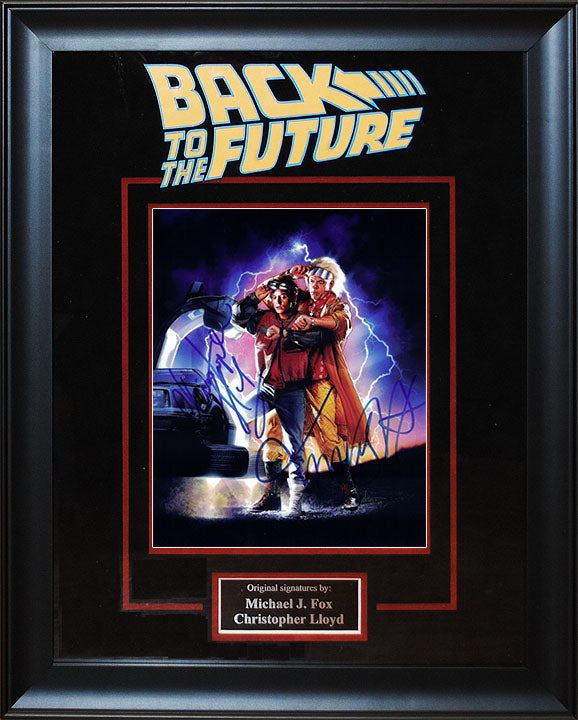 """Back To The Future"" - Cast Signed 8x10 Photo"
