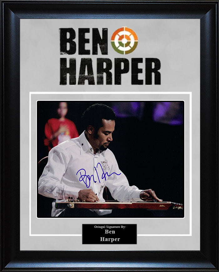 Ben Harper - Signed 8x10 Photo