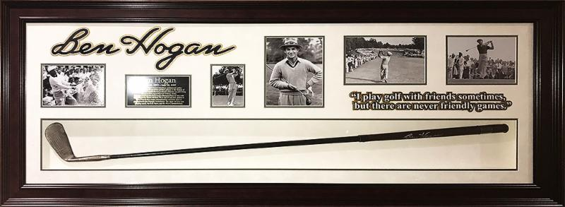 Ben Hogan - Rare signed Vintage Golf Long Iron