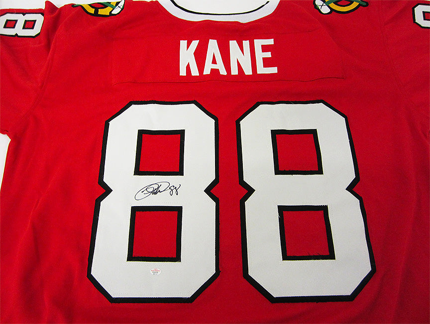 """Chicago Blackhawks"" Patrick Kane signed jersey (unframed)"