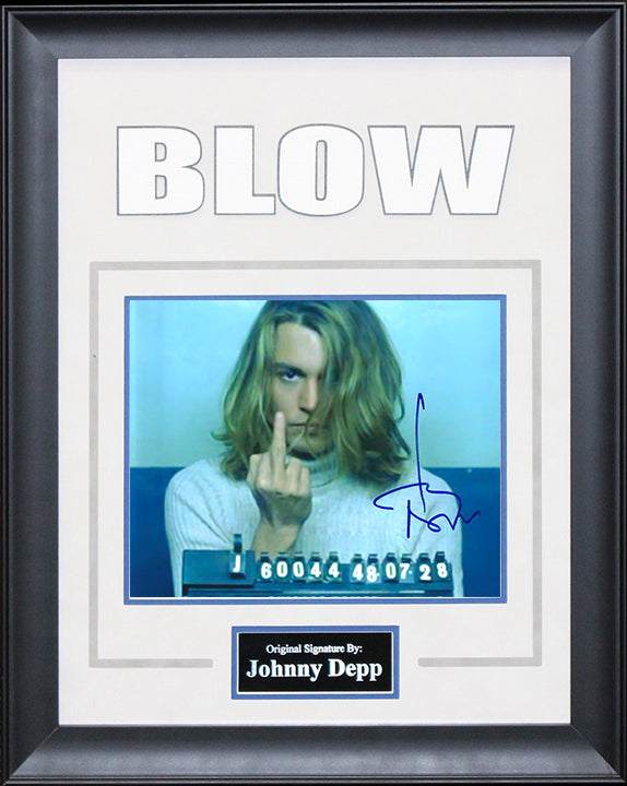 """Blow"" - Johnny Depp Signed 8x10 Photo"