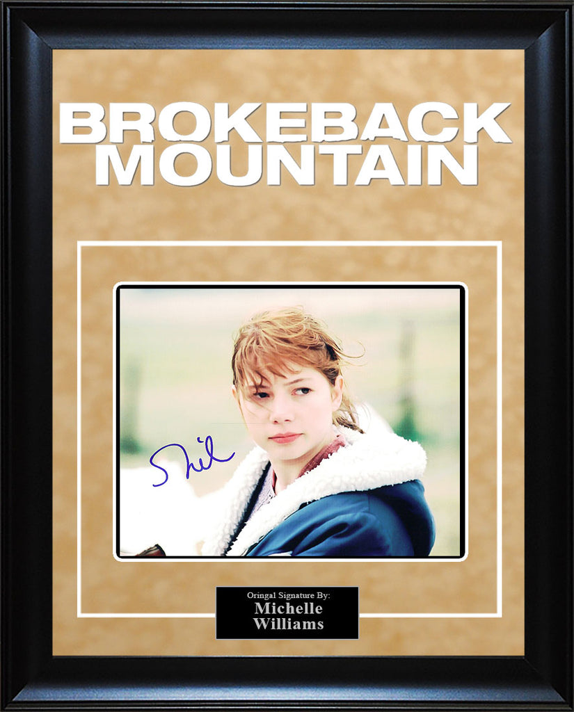 """Brokeback Mountain"" - Michelle Williams Signed 8x10 Photo"