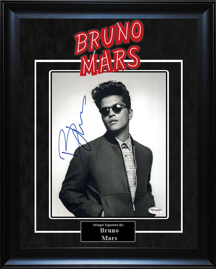 Bruno Mars - Signed 8x10 Photo