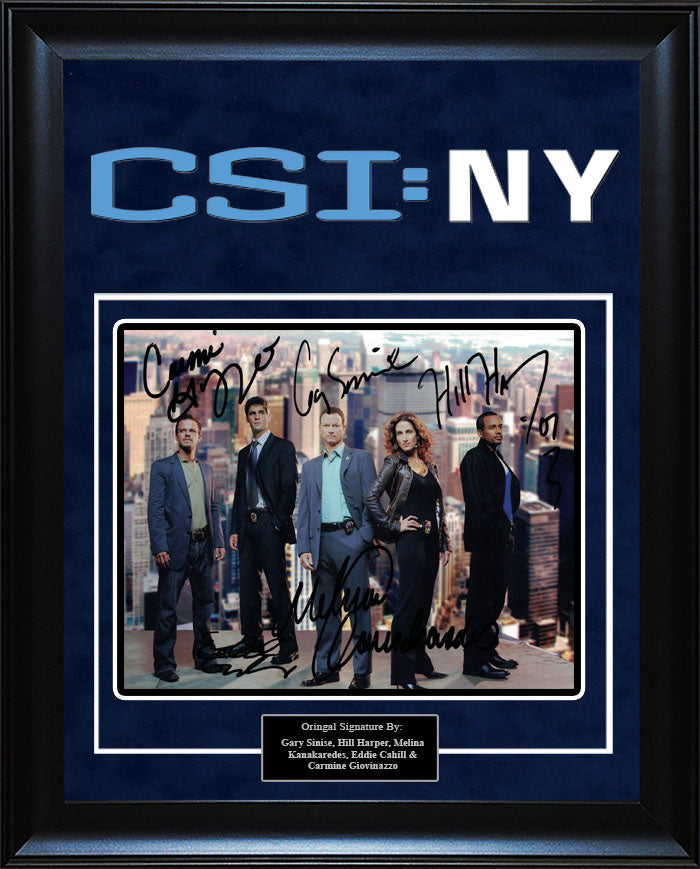 """CSI: NY"" - Cast Signed 8x10 Photo"