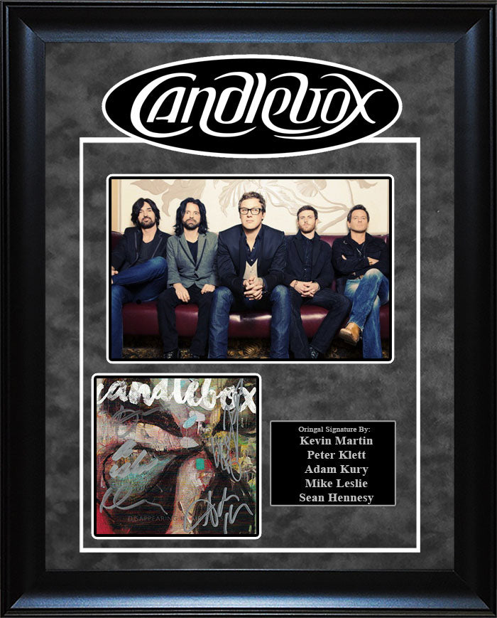 """Candlebox"" - Signed CD Insert"