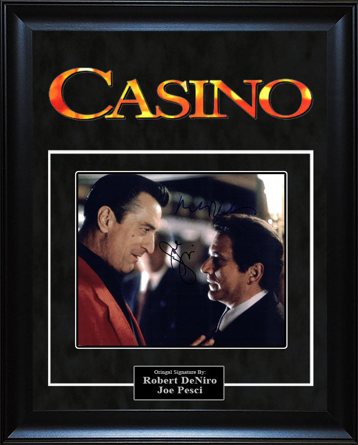 """Casino"" - Cast Signed 8x10 Photo"
