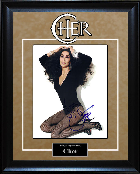 Cher - Signed 8x10 Photo