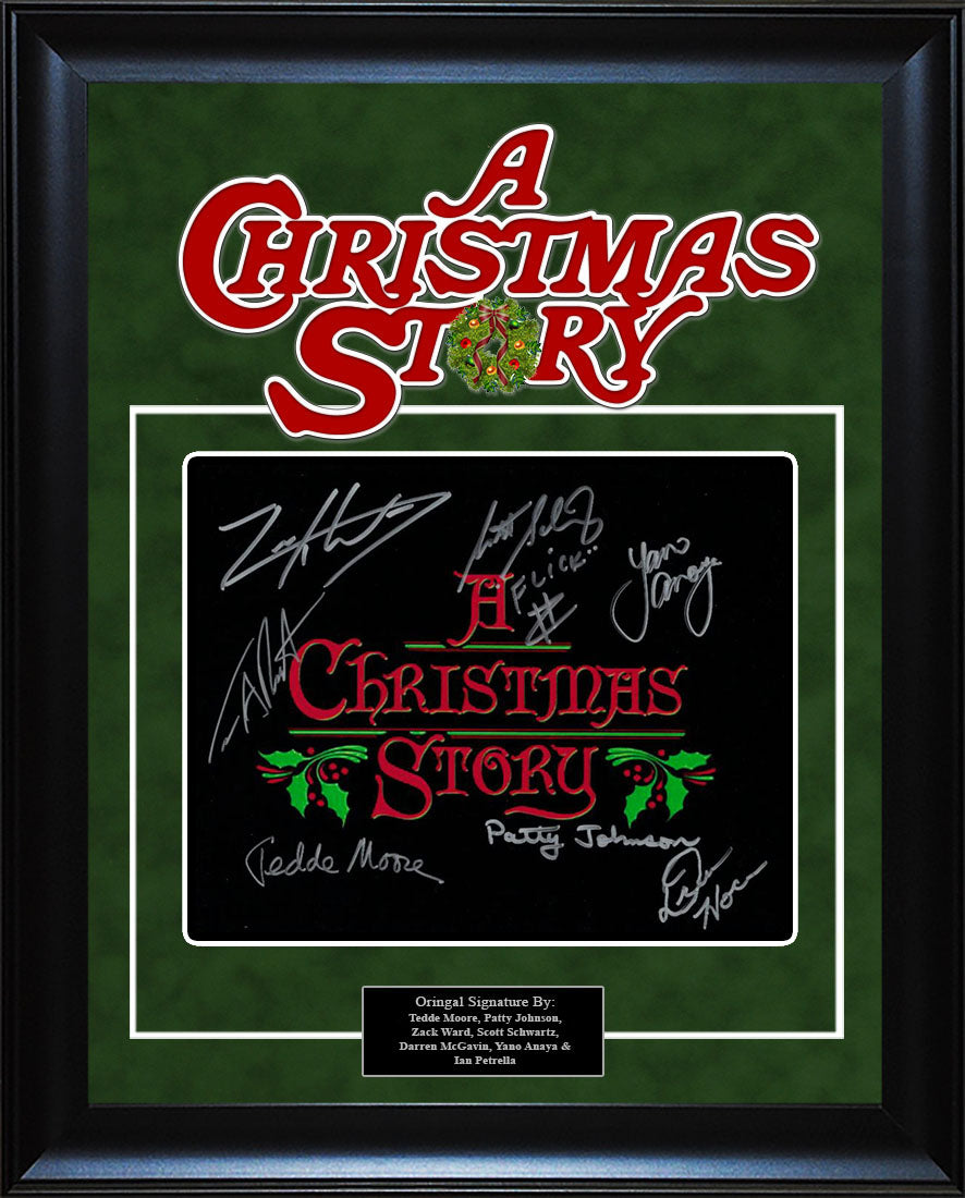 """A Christmas Story"" - Cast Signed 8x10 Photo"