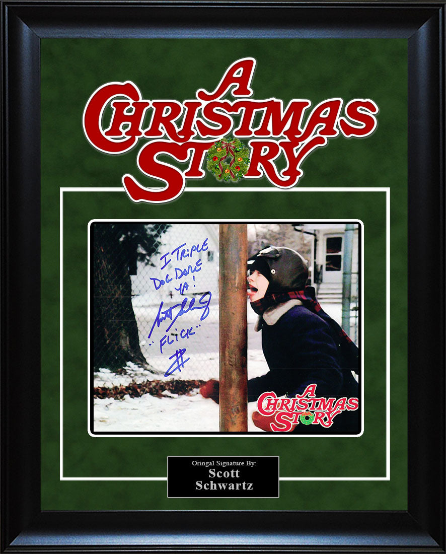 """A Christmas Story"" - Scott Schwartz Signed 8x10 Photo"