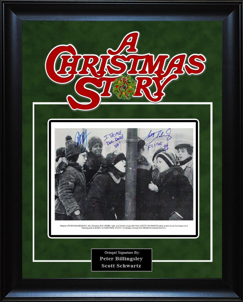 """Christmas Story"" - Cast Signed 8x10 Photo"