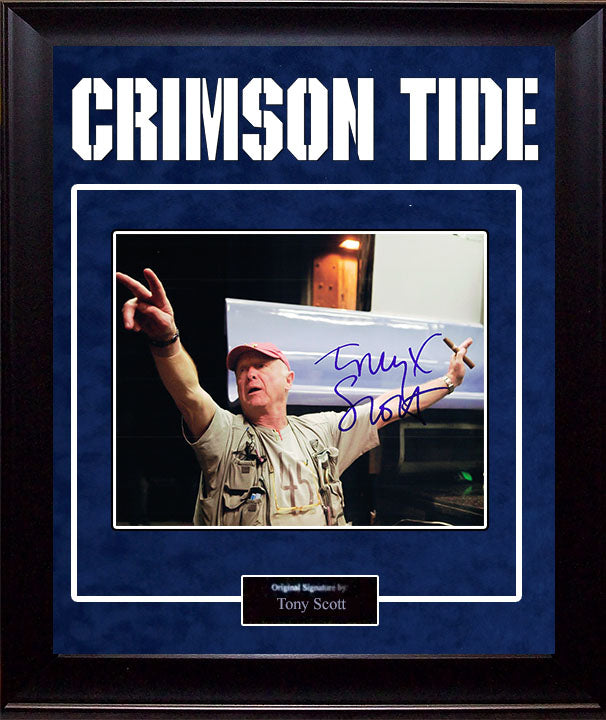 """Crimson Tide"" - Tony Scott Signed 8x10 Photo"
