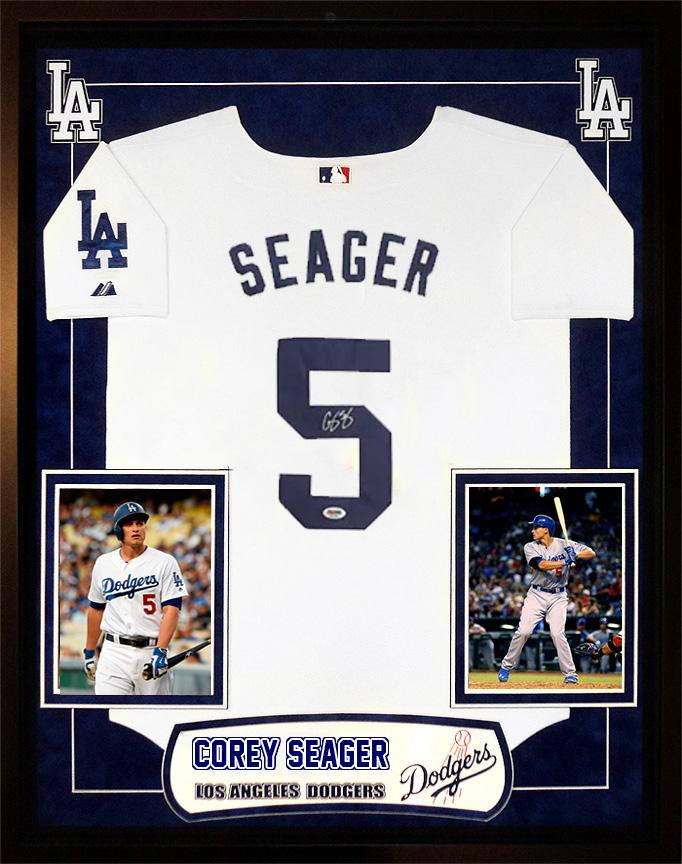 """Dodgers"" Corey Seager signed Jersey"