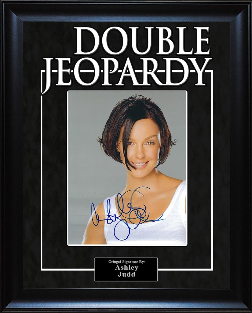 """Double Jeopardy"" - Ashley Judd Signed 8x10 Photo"