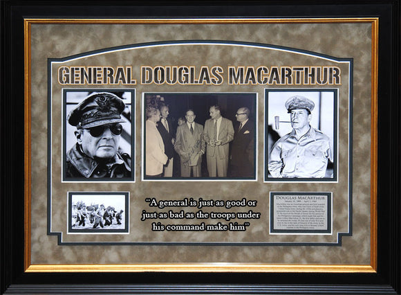 General Douglas MacArthur Signed 8x10 Photo