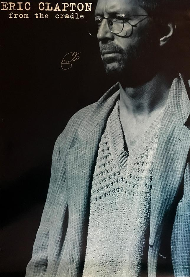 Eric Clapton - Signed Poster (Unframed)