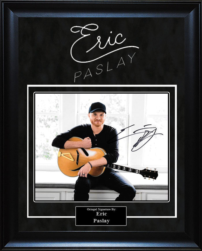Eric Paslay - Signed 8x10 Photo
